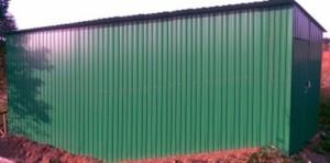 простой способ монтажа стенового профнастила